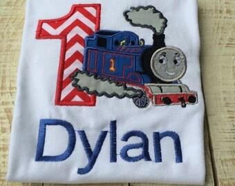 Thomas inspired Birthday Shirt - Train Shirt