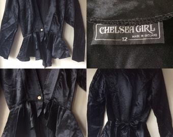 Original Chelsea Girl Peplum bustle back blouse