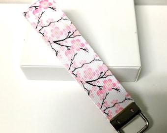 Cherry blossom keyfob