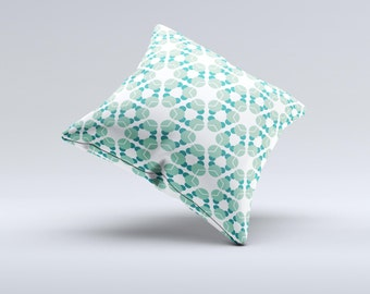 The WaterMolecule ink-Fuzed Decorative Throw Pillow