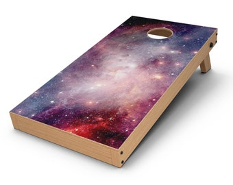Vibrant Space - Cornhole Board Skin Kit