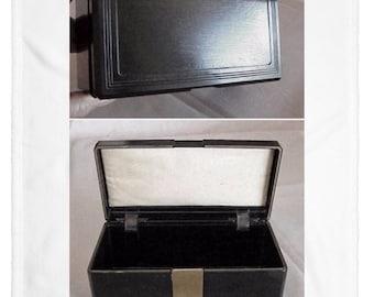 RARE Antique Art Deco BENSON & HEDGES Carved Bakelite Humidor or Cigar/Cigarette Box