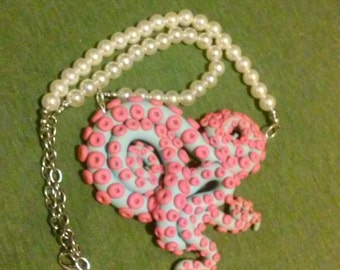 Custom tentacle necklace