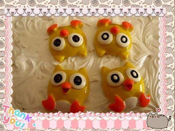 0: )- CABOCHON -( Rainbow Owls