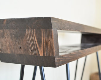 Mid-Century Inspired Console Table, Entry Table, Sofa Table with Hairpin Legs