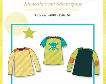 "Mialuna pattern ""Pepe"" children shirt"