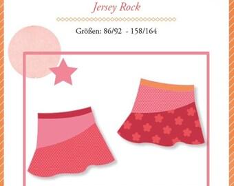 """Mialuna sewing pattern Jersey Rock """"Kenya"""""""