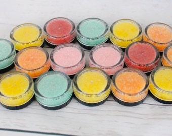 50 Orange Zest lip scrubs