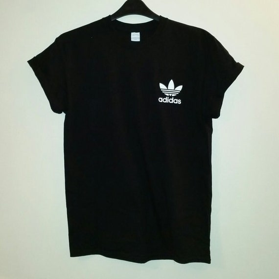 huge discount c5505 47816 low-cost unisex customised adidas double sided t shirt by mysticclothing