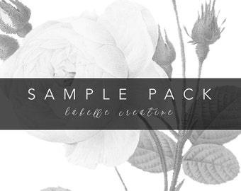 Invitation Suite Sample Pack