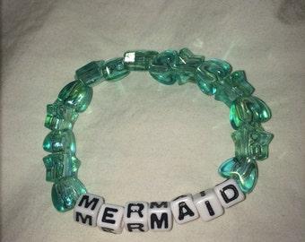 """Beaded """"Mermaid"""" Bracelet"""