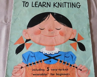 Vintage The Fun Way to Learn Knitting