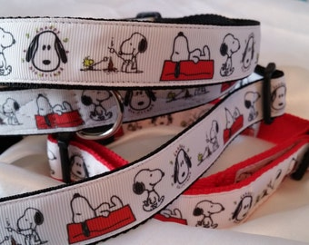 Handmade Snoopy Collar (Matching Lead Available)