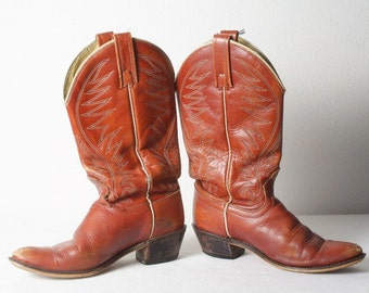 70's Western cowboy vintage boots