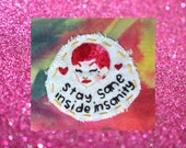 Rocky Horror Picture Show Patch, Columbia Patch, Handmade Patch