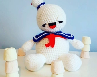 Chrochet Ghostbusters Stay Puft Marshmallow Man
