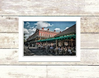 Nola Greeting Cards, French Quarter Scenes, New Orleans, Handmade, Cafe Du Monde, Suitable For Framing, Fine Art Cards
