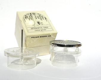 Retro Cheese Grater, Cheese Grinder, Spaghetti Tree, Kitchen Decor, Cheese Box, Kitchen Gadget, Cheese Storage Box, Cheese Mill
