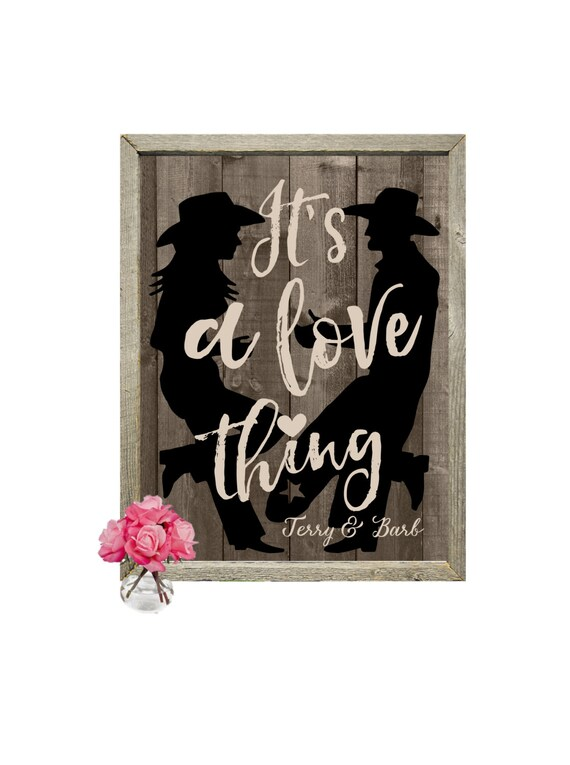 western home decor and gifts western print western decor western gift couples gift 13092