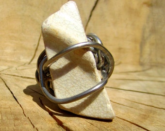 White Tile Ring