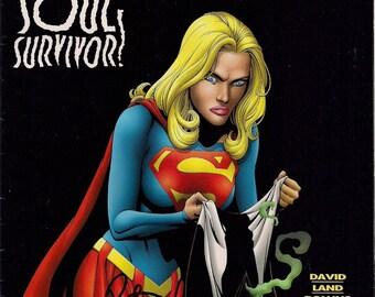 Supergirl Soul Survivor #12 Aug 97 Peter David Signed