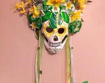 St. Patrick Sugar Skull