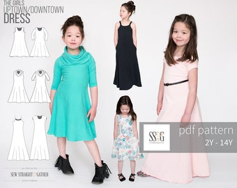 Uptown/Downtown Dress  ~ PDF Sewing Pattern