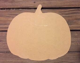 Unfinished Wood Pumpkin, Halloween, Pumpkin Door Hanger, Fall, Decoration, craft