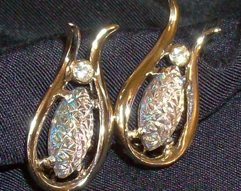 REDUCED Vintage Jewelry EMMONS Signed Earrings Excellent Condition