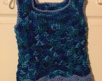 Crochet Fashion summer top