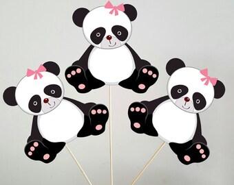 Panda Bear Centerpieces