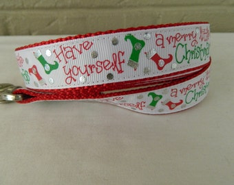 Have Yourself a Merry Little Christmas Dog Leash