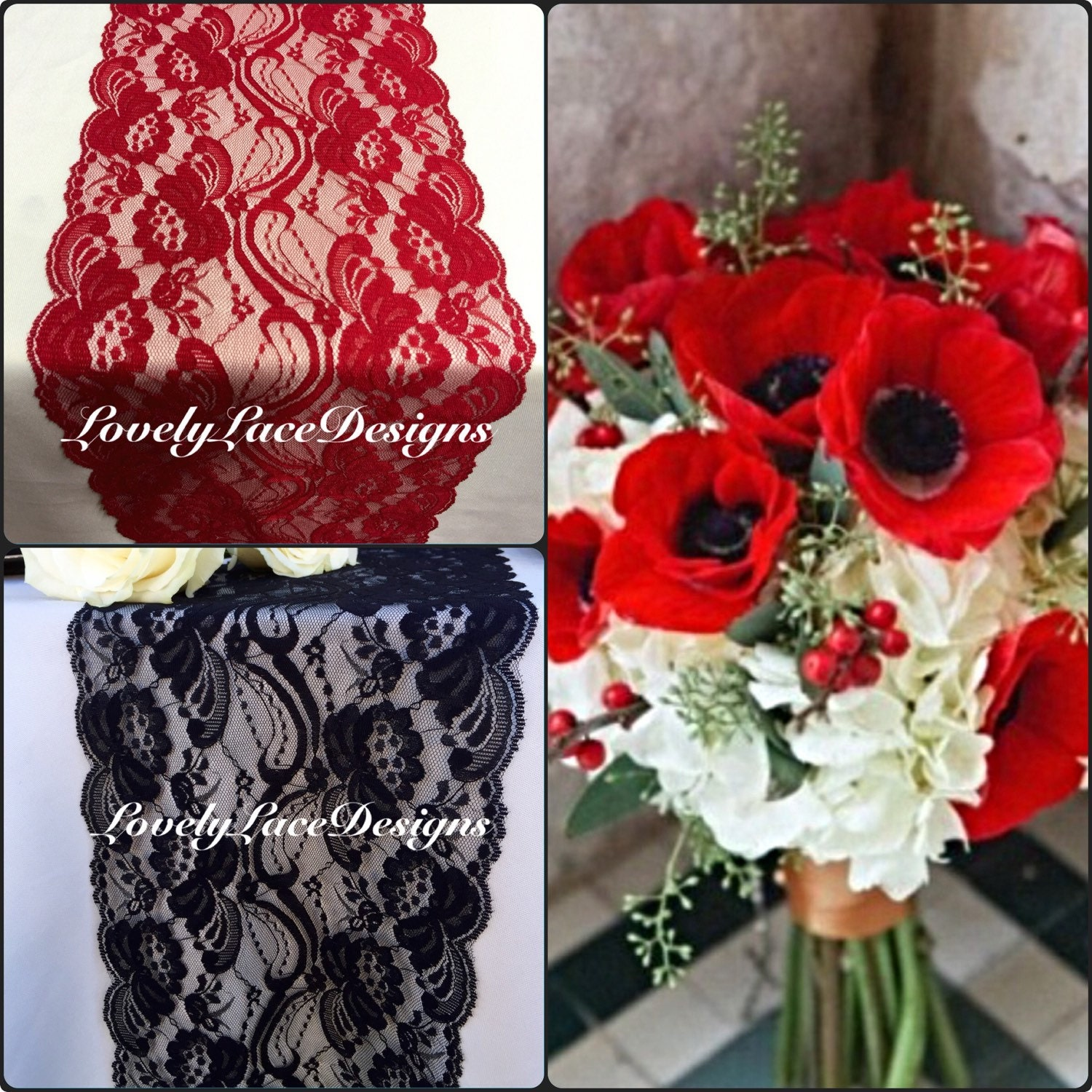 Best Red White And Black Wedding Decorations Contemporary - Styles ...