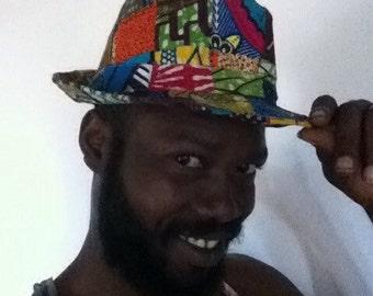 Patchwork Ghanaian Hat