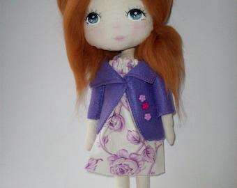 cloth doll ,rag doll, girl gift