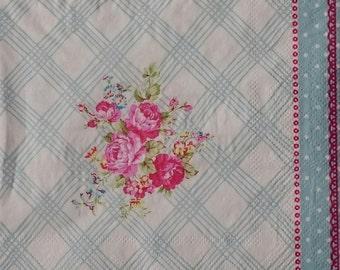 Tissue Paper Napkins for Decoupage and Crafts