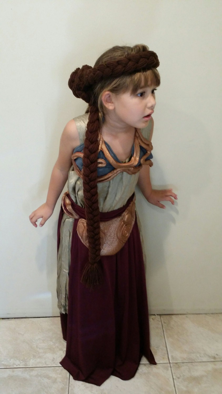 princess leia slave wig yarn hair. Black Bedroom Furniture Sets. Home Design Ideas
