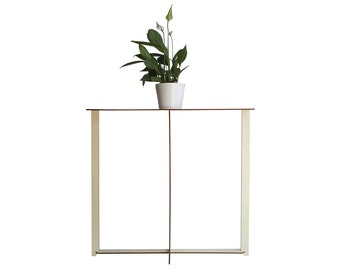Laser cut wood entryway table,home & living,slim console table,small console table,foyer table,entrance furniture,design table,entry table