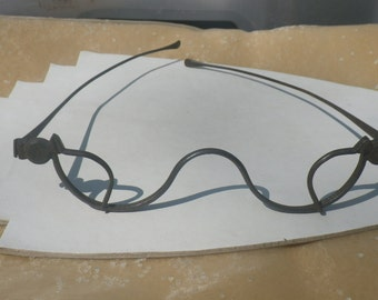 Rare Georgian Spectacles Glasses