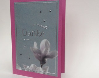Handmade Greetings Card / Danke