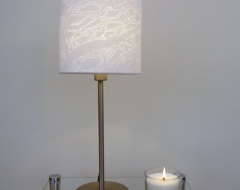 Hand Cut 'Natural Spark' Bird Drum Lamp Shade 20cm