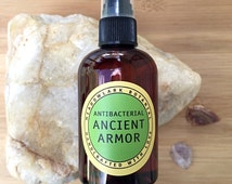 Ancient Armor (Formerly Four Thieves Oil) Room + Cleaning Spray /  Green Natural Cleaning Products / Aromatherapy / Organic Air Freshener
