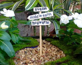 Wizardly Signpost