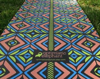 Yoga Mat by Optimistic Elephant.