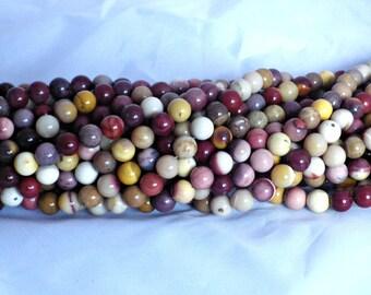 8mm Mookaite Round Beads