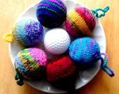 Christmas Golf Ball Sweaters Pattern PDF