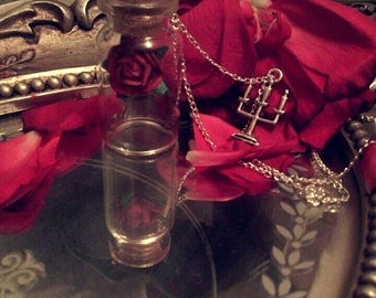 Special edition Beauty and the beast necklace