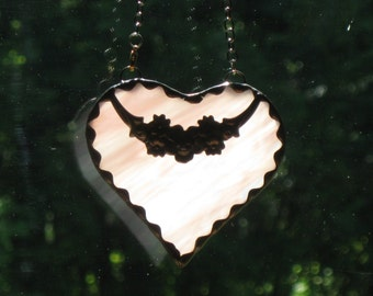 Stained Glass Heart #22