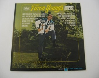 Faron Young - Greatest Hits - 1965  (Record)