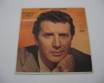 Franco Corelli - Granada & Other Romantic Songs - 1961